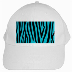Skin4 Black Marble & Turquoise Colored Pencil (r) White Cap by trendistuff