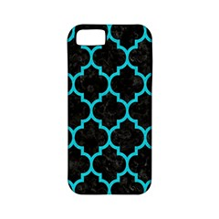 Tile1 Black Marble & Turquoise Colored Pencil (r) Apple Iphone 5 Classic Hardshell Case (pc+silicone) by trendistuff