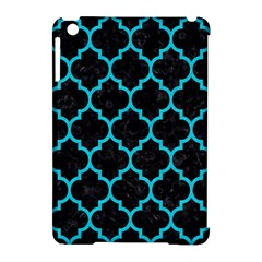 Tile1 Black Marble & Turquoise Colored Pencil (r) Apple Ipad Mini Hardshell Case (compatible With Smart Cover) by trendistuff