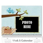 2018 At the Park Calendar - Wall Calendar 11  x 8.5  (12-Months)