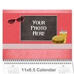 2018 JUMP STARTS OBYP Calendar - Wall Calendar 11  x 8.5  (12-Months)