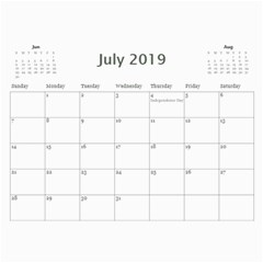 2018 Jump Starts Obyp Calendar By Lisa Minor   Wall Calendar 11  X 8 5  (12 Months)   7qyuk8th6ka5   Www Artscow Com Jul 2018
