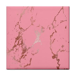 Luxurious Pink Marble Face Towel by tarastyle
