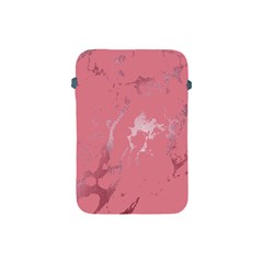 Luxurious Pink Marble Apple Ipad Mini Protective Soft Cases by tarastyle