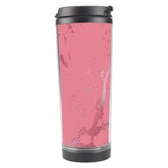 Luxurious Pink Marble Travel Tumbler by tarastyle