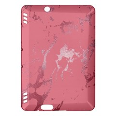 Luxurious Pink Marble Kindle Fire Hdx Hardshell Case by tarastyle
