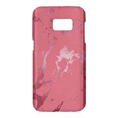 Luxurious Pink Marble Samsung Galaxy S7 Hardshell Case  by tarastyle