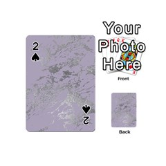 Luxurious Pink Marble Playing Cards 54 (mini)  by tarastyle