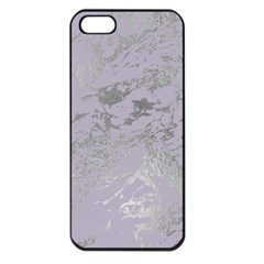 Luxurious Pink Marble Apple Iphone 5 Seamless Case (black) by tarastyle