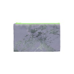 Luxurious Pink Marble Cosmetic Bag (xs) by tarastyle