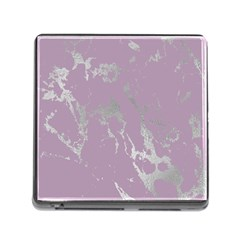 Luxurious Pink Marble Memory Card Reader (square) by tarastyle
