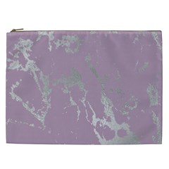 Luxurious Pink Marble Cosmetic Bag (xxl)  by tarastyle