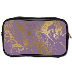 Luxurious Pink Marble Toiletries Bags 2 Side by tarastyle