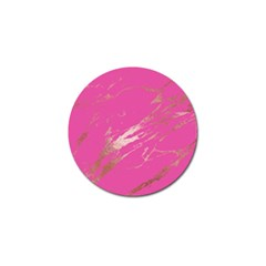 Luxurious Pink Marble Golf Ball Marker (10 Pack) by tarastyle