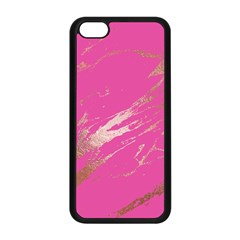 Luxurious Pink Marble Apple Iphone 5c Seamless Case (black) by tarastyle