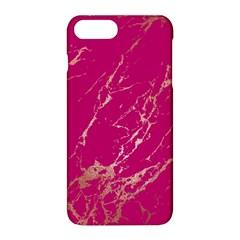 Luxurious Pink Marble Apple Iphone 8 Plus Hardshell Case by tarastyle