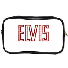 Elvis Presley Toiletries Bags 2 Side by Valentinaart