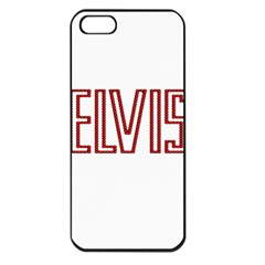 Elvis Presley Apple Iphone 5 Seamless Case (black) by Valentinaart