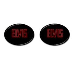Elvis Presley Cufflinks (oval) by Valentinaart