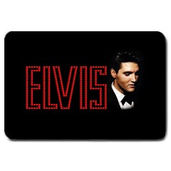 Elvis Presley Large Doormat  by Valentinaart