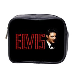 Elvis Presley Mini Toiletries Bag 2 Side by Valentinaart