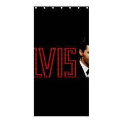 Elvis Presley Shower Curtain 36  X 72  (stall)  by Valentinaart