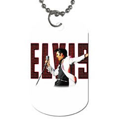 Elvis Presley Dog Tag (two Sides) by Valentinaart