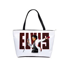 Elvis Presley Shoulder Handbags by Valentinaart