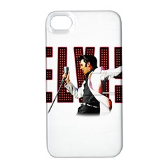 Elvis Presley Apple Iphone 4/4s Hardshell Case With Stand by Valentinaart