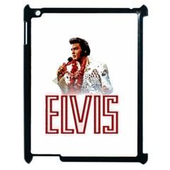 Elvis Presley Apple Ipad 2 Case (black) by Valentinaart