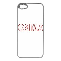 Normal Apple Iphone 5 Case (silver) by Valentinaart