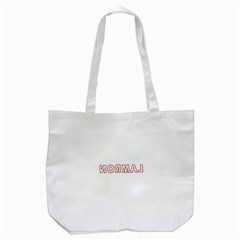Normal Tote Bag (white) by Valentinaart