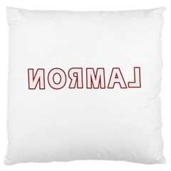 Normal Standard Flano Cushion Case (one Side) by Valentinaart