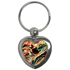Abstract Acryl Art Key Chains (heart)  by tarastyle