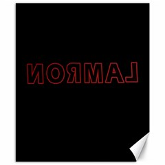 Normal Canvas 8  X 10