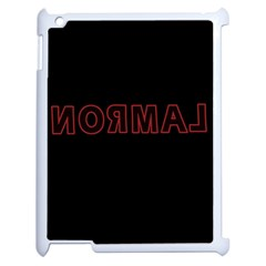 Normal Apple Ipad 2 Case (white) by Valentinaart