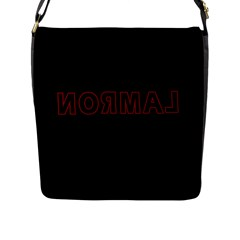 Normal Flap Messenger Bag (l)  by Valentinaart