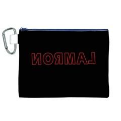 Normal Canvas Cosmetic Bag (xl) by Valentinaart