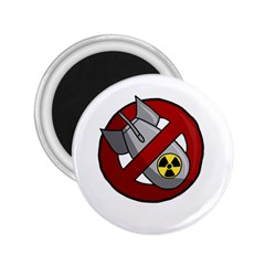 No Nuclear Weapons 2 25  Magnets by Valentinaart