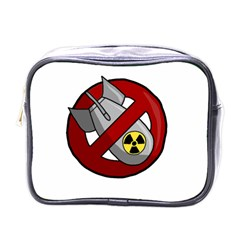 No Nuclear Weapons Mini Toiletries Bags by Valentinaart