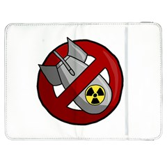 No Nuclear Weapons Samsung Galaxy Tab 7  P1000 Flip Case by Valentinaart