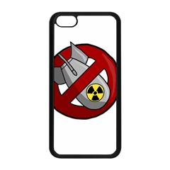 No Nuclear Weapons Apple Iphone 5c Seamless Case (black) by Valentinaart