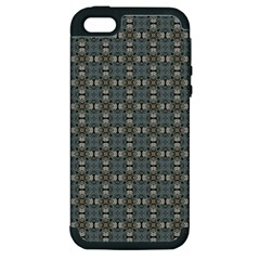 Earth Tiles Apple Iphone 5 Hardshell Case (pc+silicone) by KirstenStar