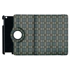 Earth Tiles Apple Ipad 3/4 Flip 360 Case by KirstenStar
