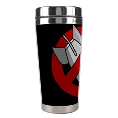 No Nuclear Weapons Stainless Steel Travel Tumblers by Valentinaart
