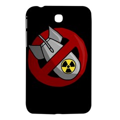 No Nuclear Weapons Samsung Galaxy Tab 3 (7 ) P3200 Hardshell Case  by Valentinaart