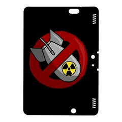 No Nuclear Weapons Kindle Fire Hdx 8 9  Hardshell Case by Valentinaart