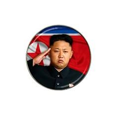 Kim Jong Un Hat Clip Ball Marker (10 Pack) by Valentinaart