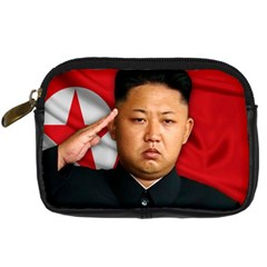 Kim Jong Un Digital Camera Cases by Valentinaart