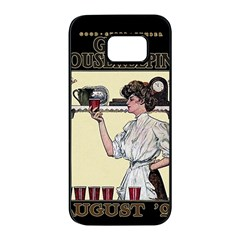 Good Housekeeping Samsung Galaxy S7 Edge Black Seamless Case by Valentinaart